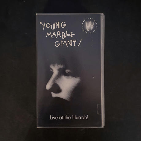 Young Marble Giants「Live At The Hurrah!」VHS