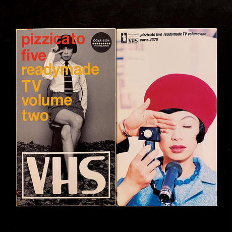 pizzicato five「readymade TV volume one, two」VHS・2本セット