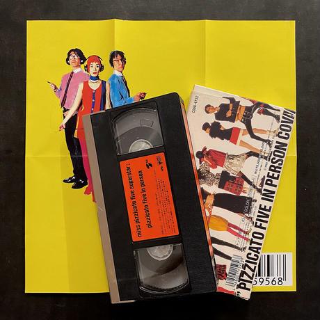 pizzicato five「miss pizzicato five superstar; pizzicato five in person」VHS