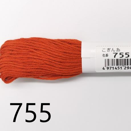 【こぎん糸】オリムパス 中間色系 約18m 綿100% 6本撚り