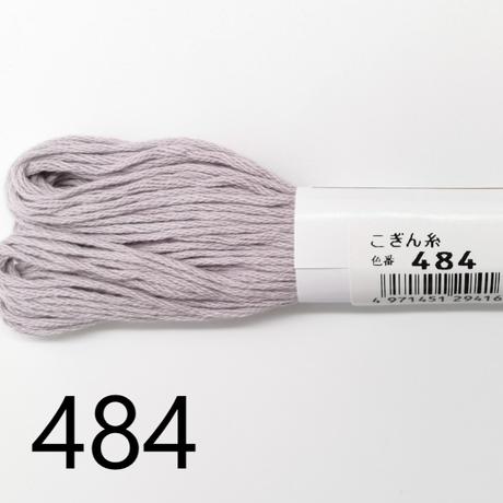 【こぎん糸】オリムパス ベージュ系中間色 約18m 綿100% 6本撚り