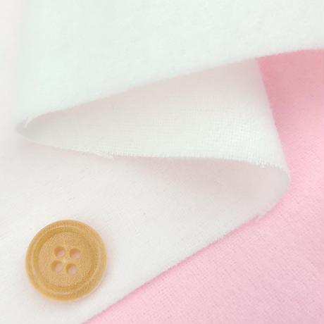 〈50cm単位販売〉【コットンフランネル】高品質ネル 起毛 無地 約107cm幅 綿100%