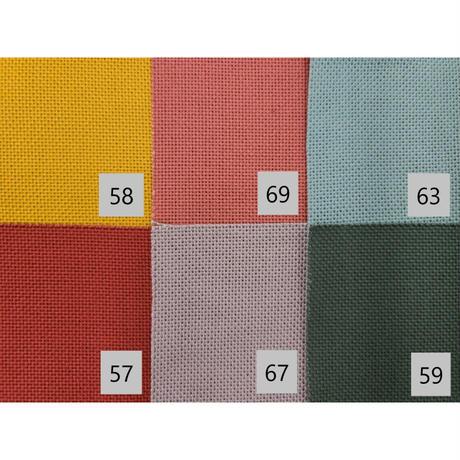 〈10cm単位販売〉【コングレス】刺しゅう布 オリムパス 中間色系