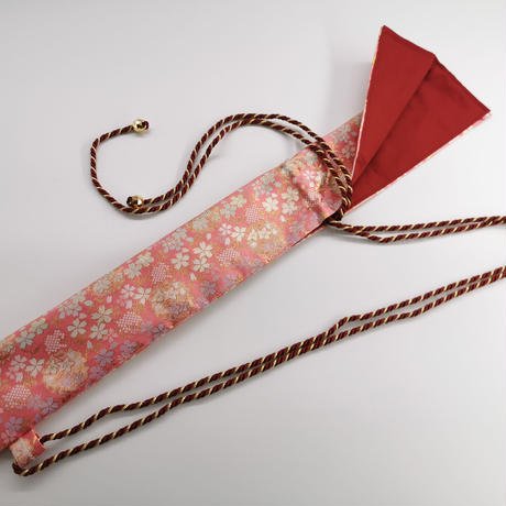 〈当店オリジナル商品〉【笛袋】在庫1点限り 写真の柄 金蘭 ねぶた お祭り