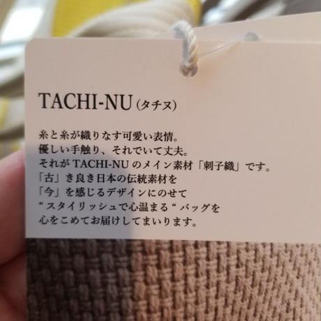 TACHI-NUトートバッグ  BASIC Sサイズ 黄色 イエロー