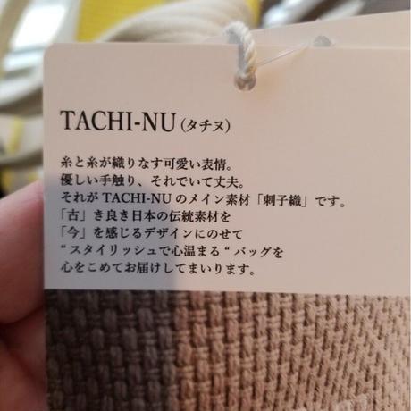 TACHI-NU タッセルトート 黒ブラック