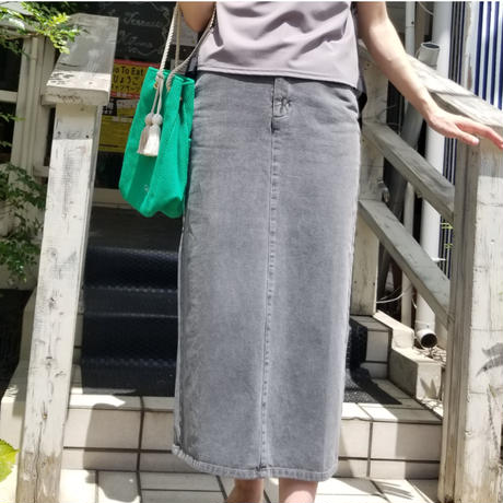TACHI-NU 巾着バッグSTRING 黄色イエロー グリーン ターコイズ