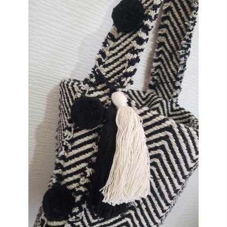 インド製手織りジャガードバッグ