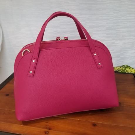 シェル型バッグ ピンク イエロー