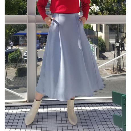 日本製ダンボールニットスカート ベージュ ブルー ピンク