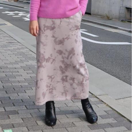 タイダイ染めニットスカート