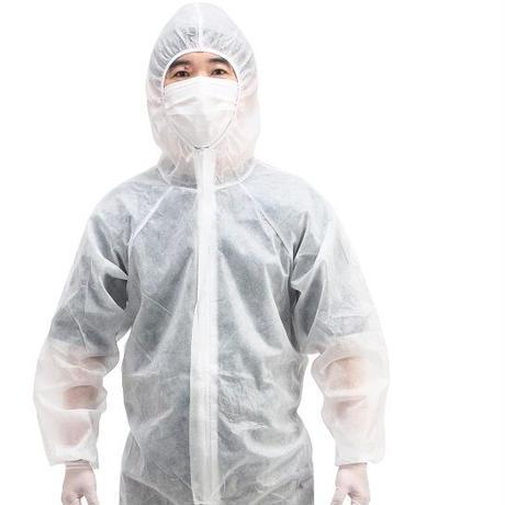 【男女兼用】不織布二層防護服