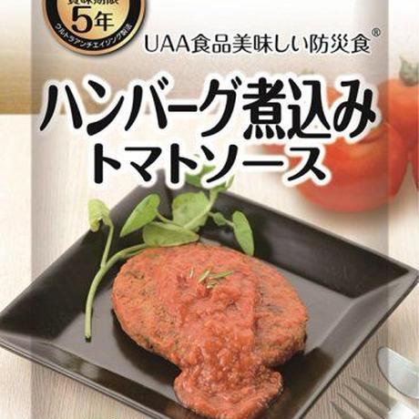 【単品】美味しい防災食 ハンバーグ煮込みトマトソース