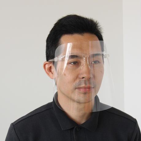 【5枚組】眼鏡付き フェイスシールド