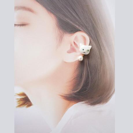 ねこイヤカフ(右耳用)