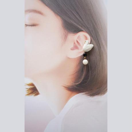 スワンイヤカフ(左耳用)