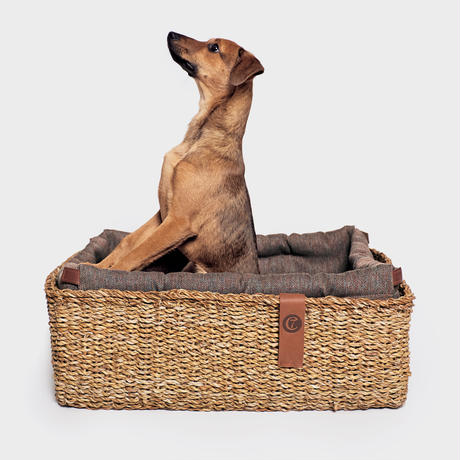 [Cloud7]  Basket Bed  ヘリンボーン