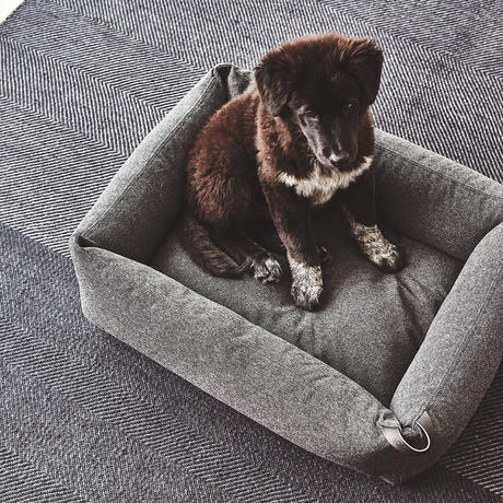 [MiaCara] Stella Box Bed テクスチャード ストーングレー
