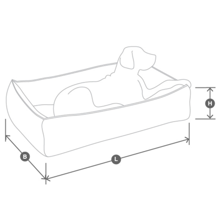 [MiaCara] Nude Box Bed アッシュモカ