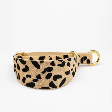 [Collar of Sweden] Leopard ワイド/スリム/ハーフチョーク