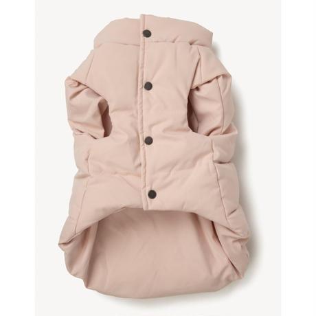 [max-bone]  Puffer Vest スモーキーピンク