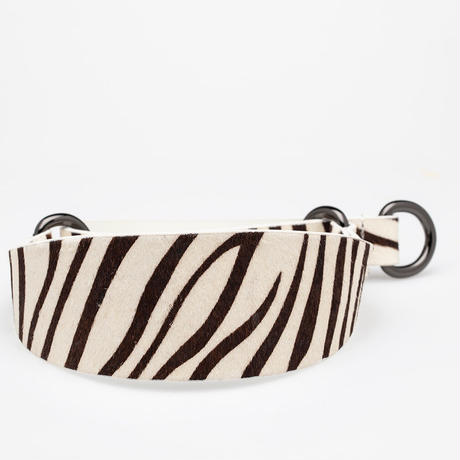 [Collar of Sweden] Zebra Wide XS/S/MartingaleS