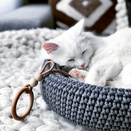 [Labbvenn] COCO Cat Bed マットグレー