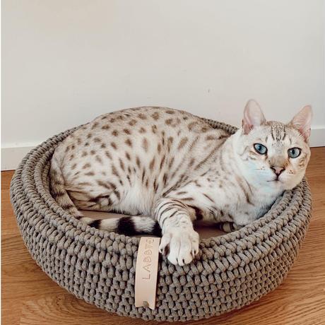 [Labbvenn] COCO Cat Bed カフェオレ