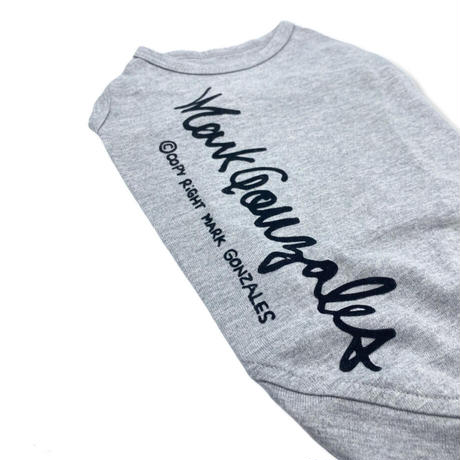 [MAITE]  ロゴ Tシャツ グレー