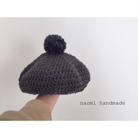 ポンポンベレー帽 Sサイズ