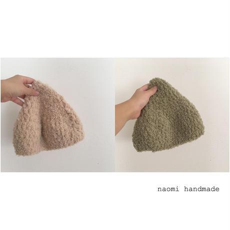 モコモコ帽子 こびと Mサイズ