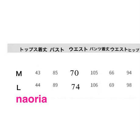 予約制 ワンショルトップス+パンツセット