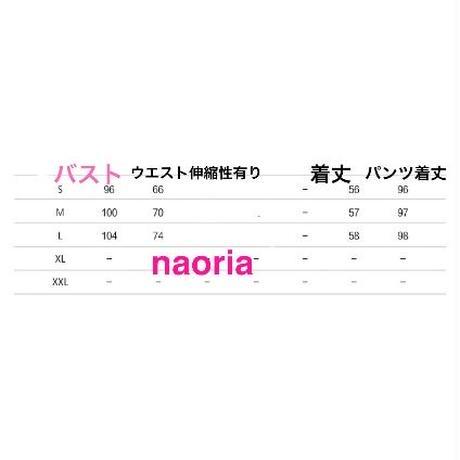 即納&予約制  ピンクグレージッパーニットワイドパンツセット