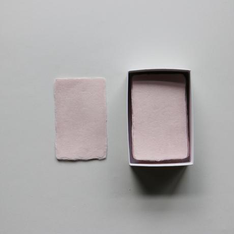 名刺 ピンク 50枚入り