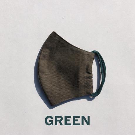 "Face Mask with ""AIR BATH"" from JAPANESE TEA FARM (オリーブ)"