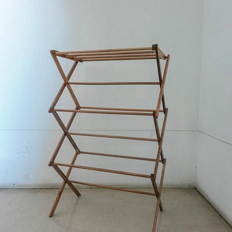 木製タオルラック
