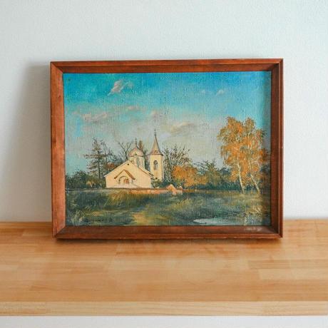 木製フレーム(油絵 / 風景画)