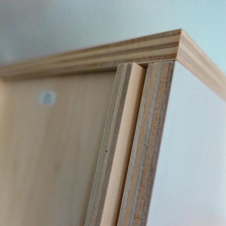 スタッキング木製ボックス(高)
