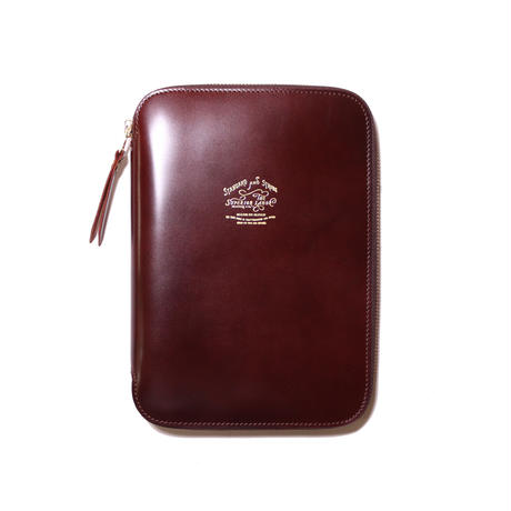 【THE SUPERIOR LABOR】cordovan zip organizer