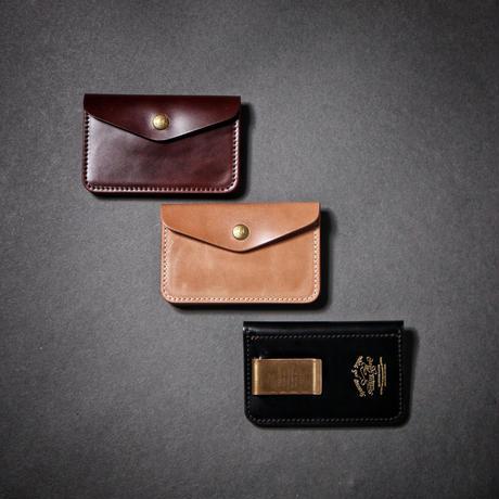 【THE SUPERIOR LABOR】cordovan traveler's small purse