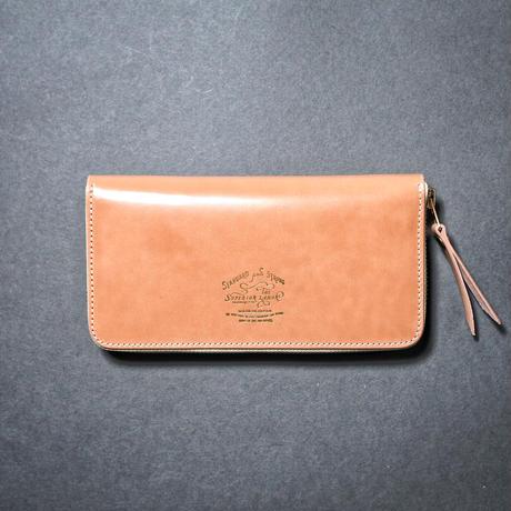 【THE SUPERIOR LABOR】cordovan zip long wallet
