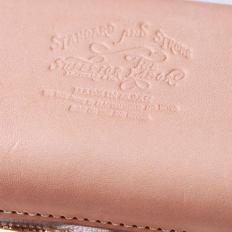 【THE SUPERIOR LABOR 】zip leather box S