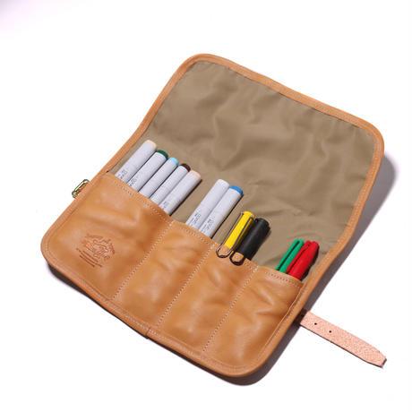【THE SUPREIOR LABOR】stripe roll pen case