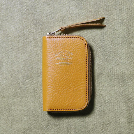 【THE SUPERIOR LABOR 】leather zip key case