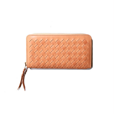 【THE SUPERIOR LABOR 】mesh zip long wallet