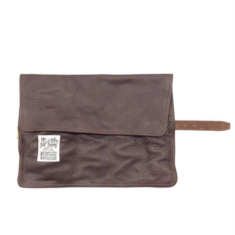 【THE SUPERIOR LABOR】leather roll pen case