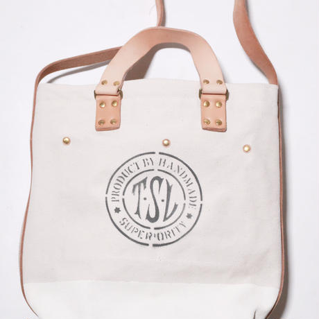 【THE SUPERIOR LABOR 】canvas 2way bag