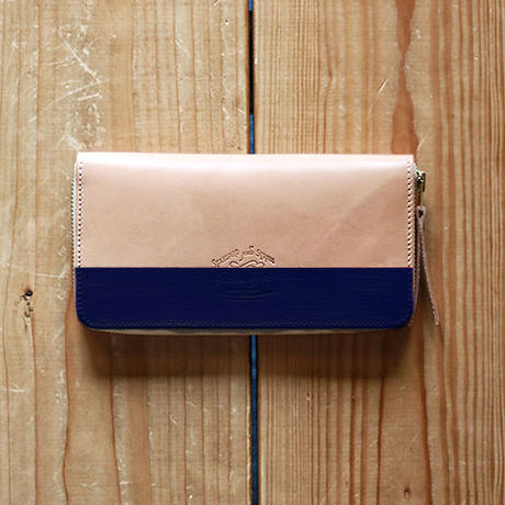 【THE SUPERIOR LABOR 】paint zip long wallet / ペイント ジップウォレット