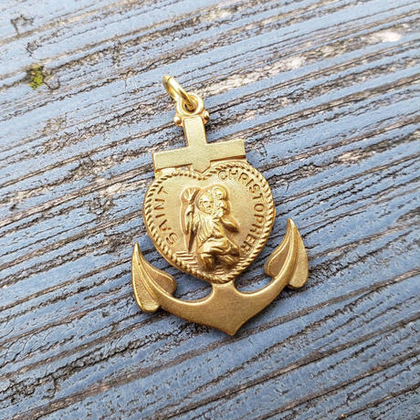 【THE SUPERIOR LABOR】anchor brass charm