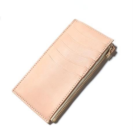 【THE SUPERIOR LABOA】cordovan vertical zip wallet